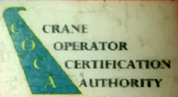crane operator certification authority